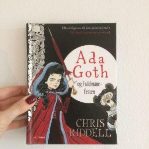 Ada Goth Chris Riddell boganmeldelse kulturmor