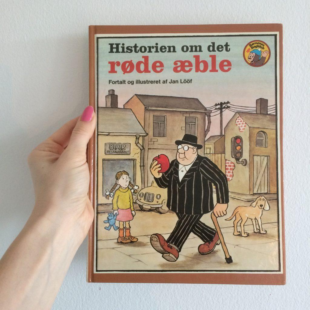 historien om det røde æble børnebog højtlæsning