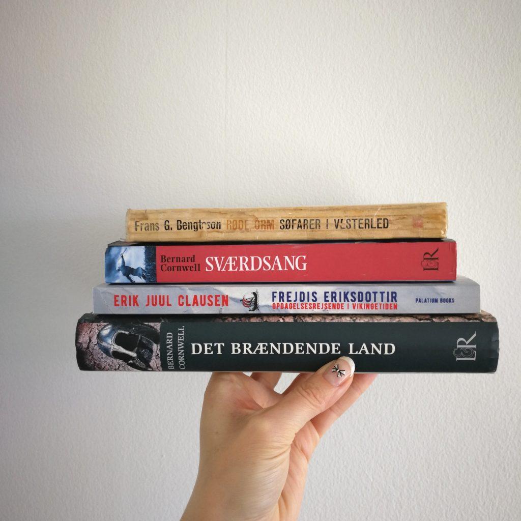 vikinger roman bøger litteratur kulturmor