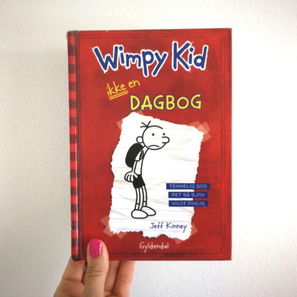 læselyst børnebøger wimpy kid