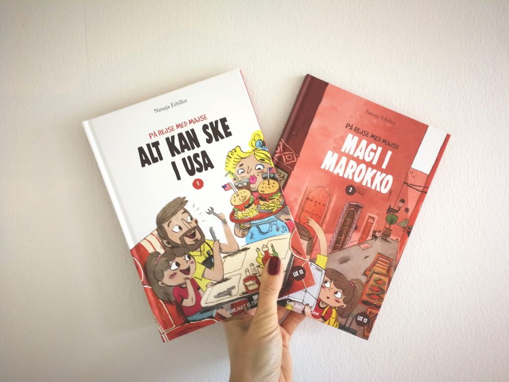 på rejse med majse letlæsning børnebog