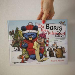 boris julebjørn julehistorier børn kulturmor