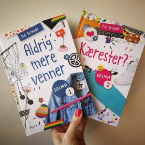 Puk krogsøe selma bøger om piger og venskaber børnebog pigebøger kulturmor