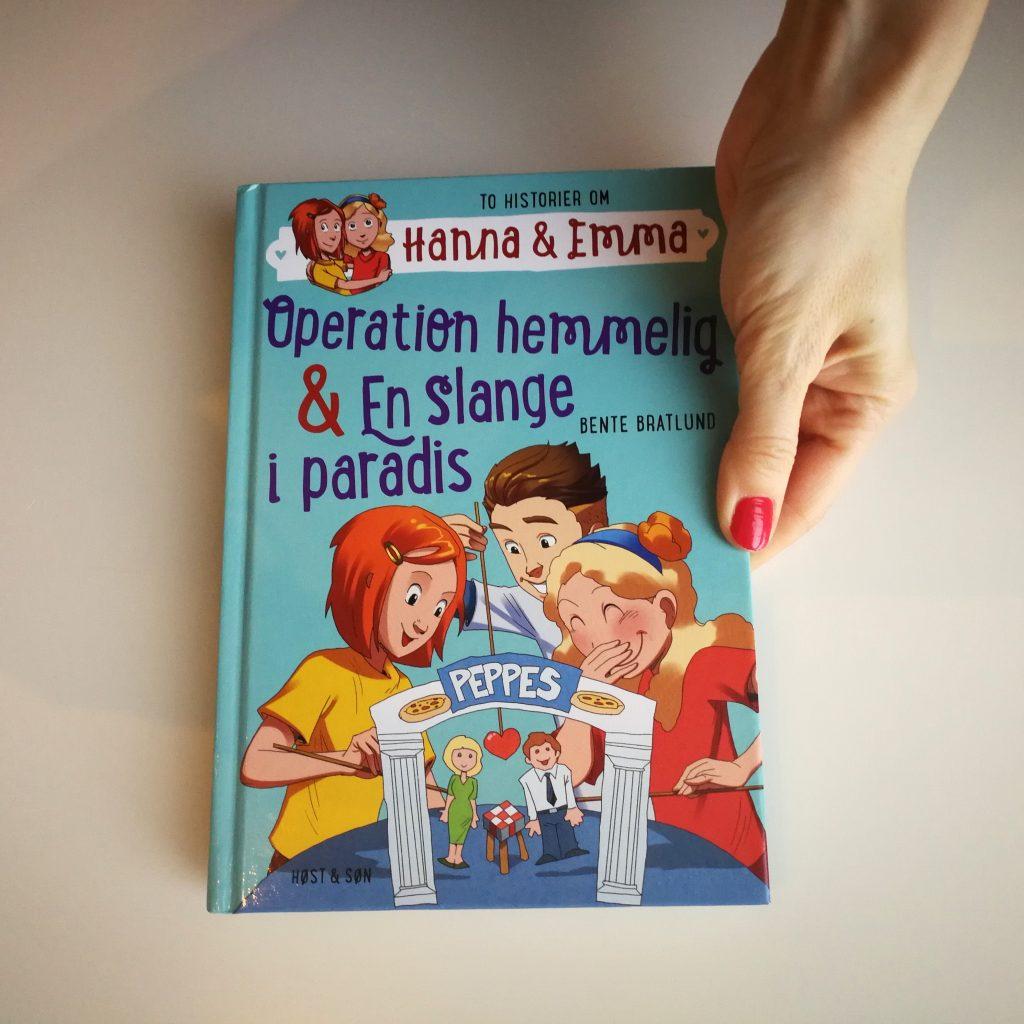 hanna og emma bente bratlund bøger om piger og venskaber børnebog pigebøger kulturmor