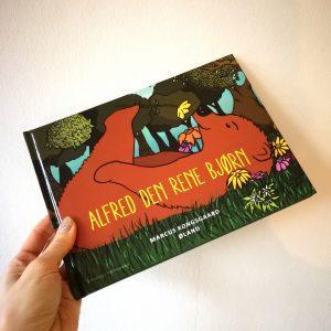 Alfred den rene bjørn marcus kongsgaard Øland børnebog anmeldelse kulturmor