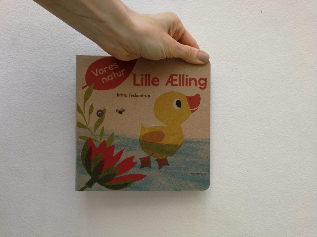 lille ælling babybøger bæredygtige bøger mais og co børnebøger højtlæsning kulturmor