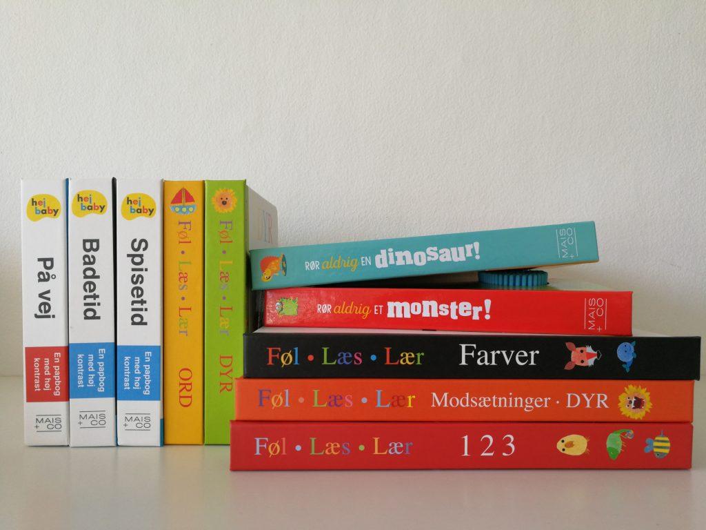 babybøger følerbøger mais og co kulturmor