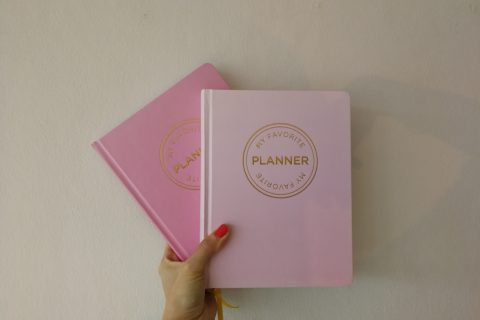 my favourite planner notesbog bullet journal