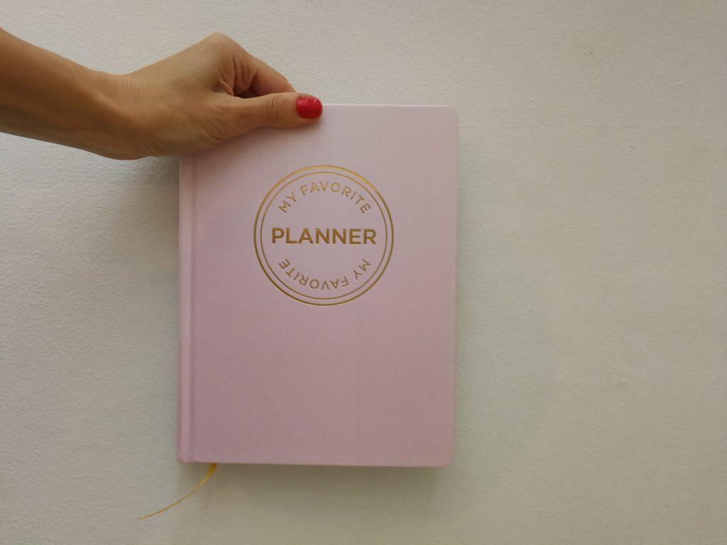 my favourite planner kalender dagbog