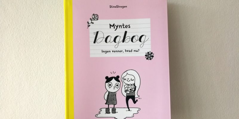 myntes dagbog stinestregen børnebog kulturmor