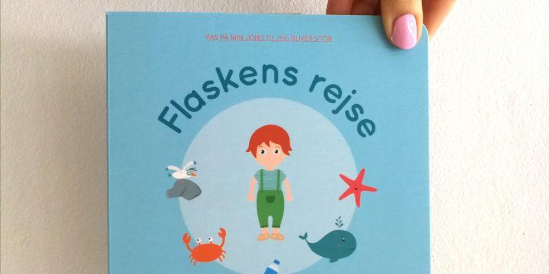 flaskens rejse børnebog højtlæsning billedbog