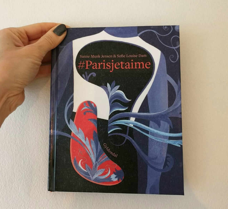 #parisjetaime sanne munk jensen sofie louise dam gyldendal ungdomsbog novelle