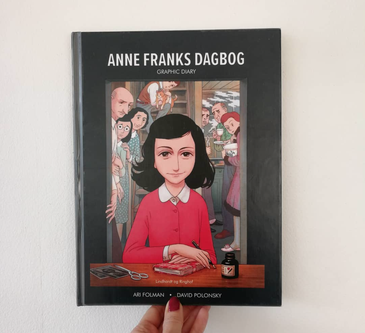 Anne franks dagbog anmeldelse anbefaling