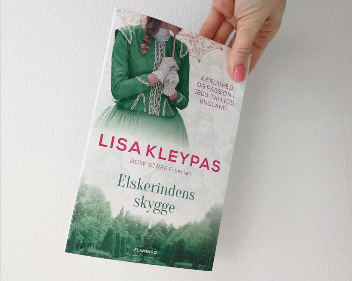 elskerindens skygge lisa kleypas romance roman anmeldelse kulturmor