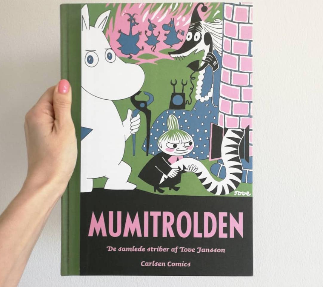 mumitrolde mumi børnebog højtlæsning kulturmor carlsen boganmeldelse