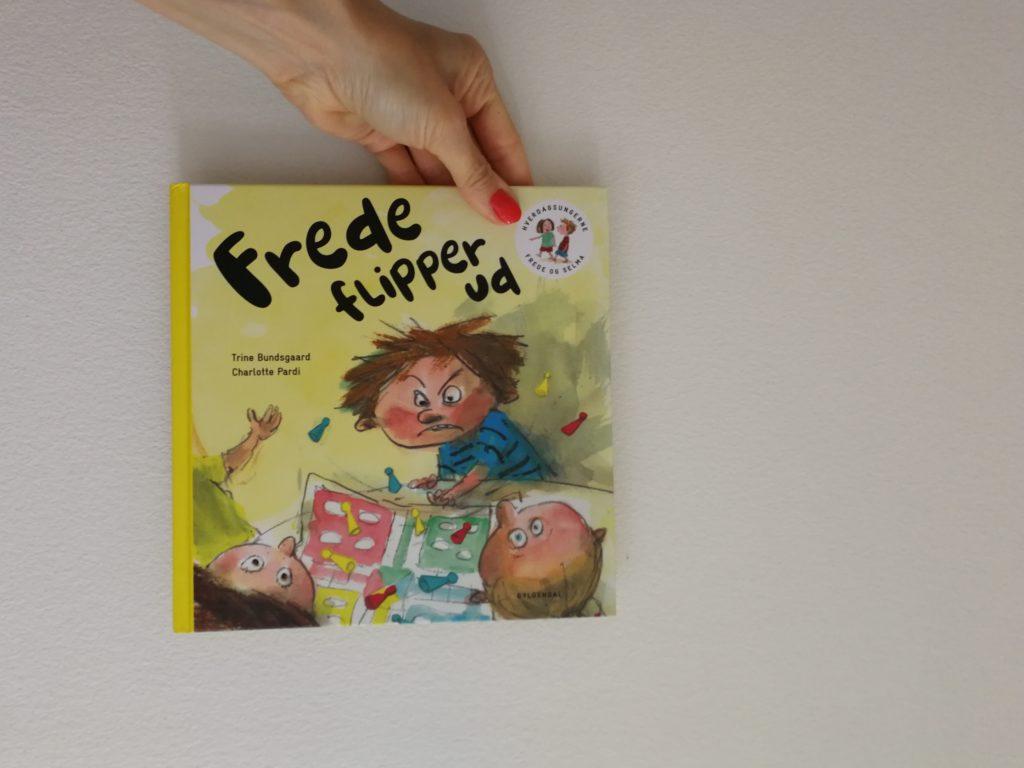 frede flipper ud frede og selma trine buodsggard Højtlæsningshygge højtlæsning børnebog anbefaling