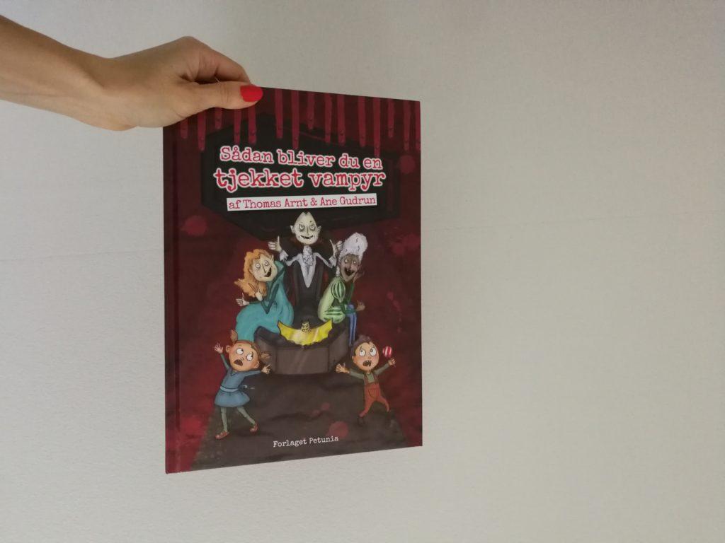 Sådan bliver du en tjekket vampyr børnebog anbefaling kulturmor halloween