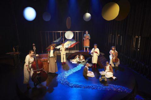 Kloder i gyldent rum, Team Teatret anmeldelse kulturmor iscene