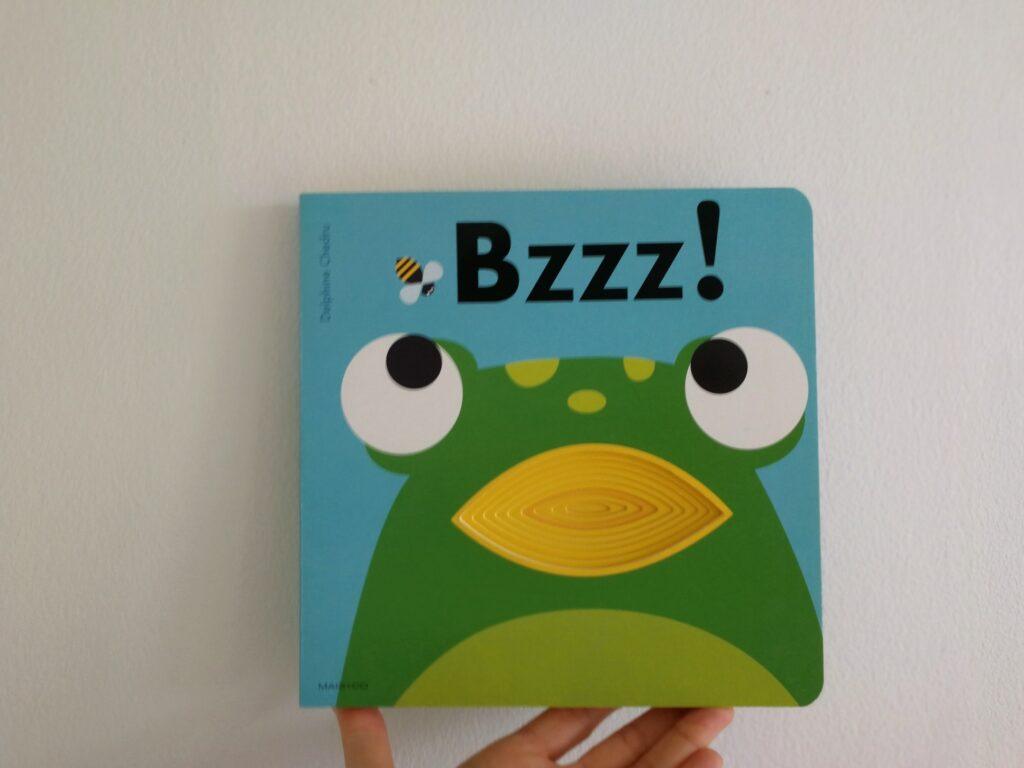 bzzz! følebog sansebog babybog