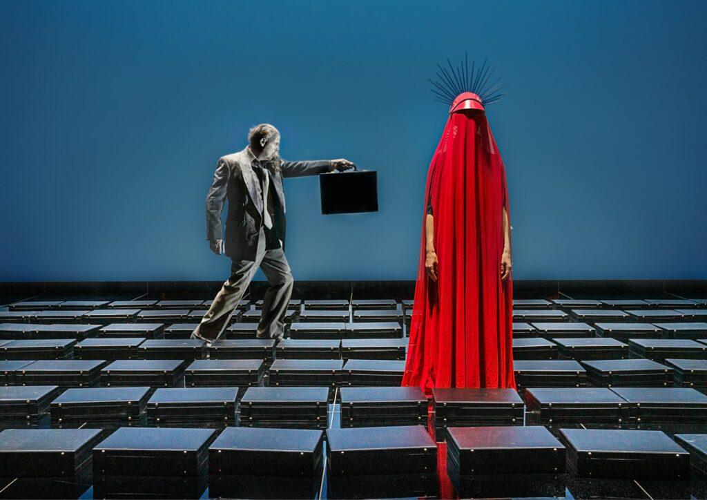 Terror/is/me, Odense Teater. Foto: Karoline Lieberkind