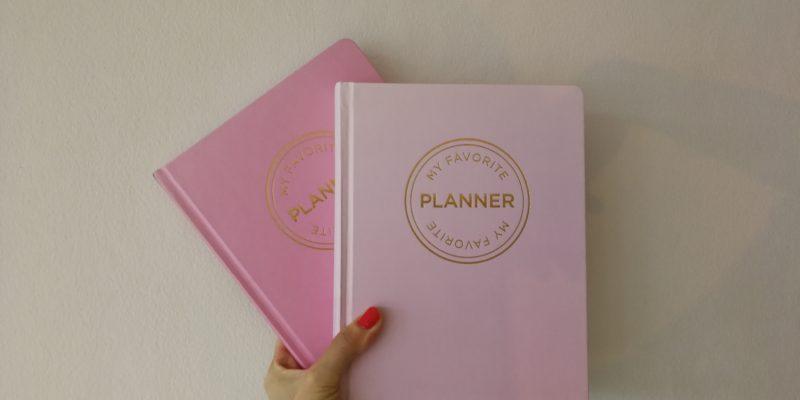 my favourite planner notesbog bullet journal
