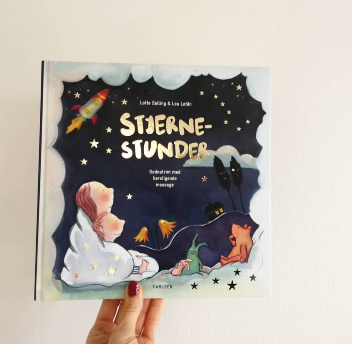stjernestunder lotte samling børnemassage godnathistorie