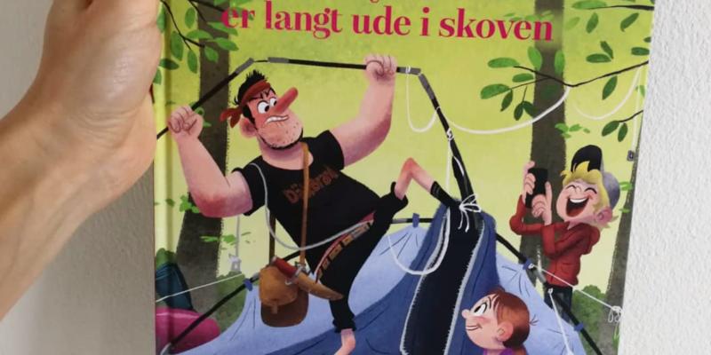 sallys far er langt ude i skoven carlsen højtlæsning kulturmor