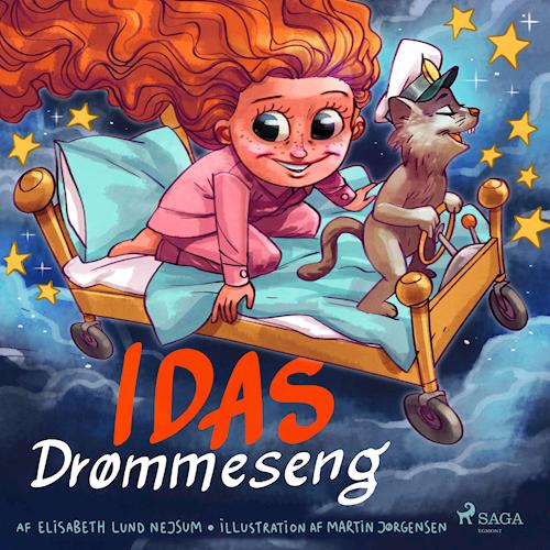 Elisabeth Lund Nejsum idas drømmeseng børnebog lydbog højtlæsning kulturmor