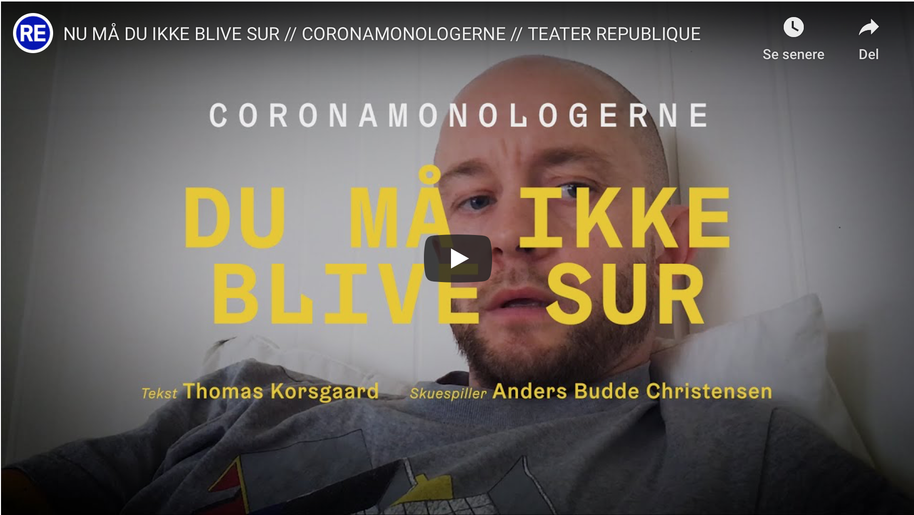 coronamonologerne teater république monolog anmeldelse information kulturmor