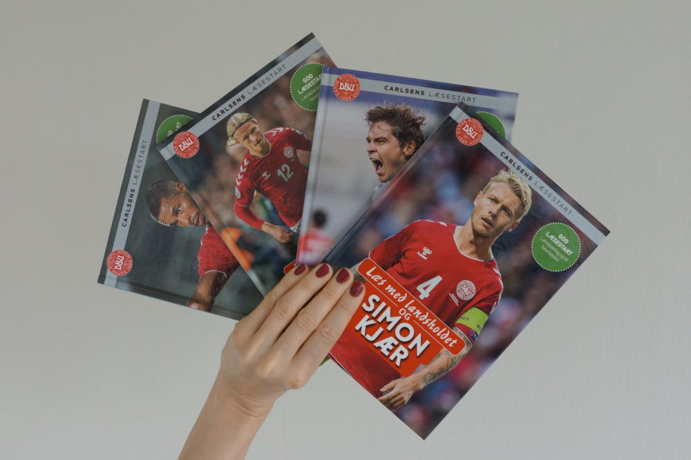 læs med landsholdet læseglæde børnebog carlsen kulturmor