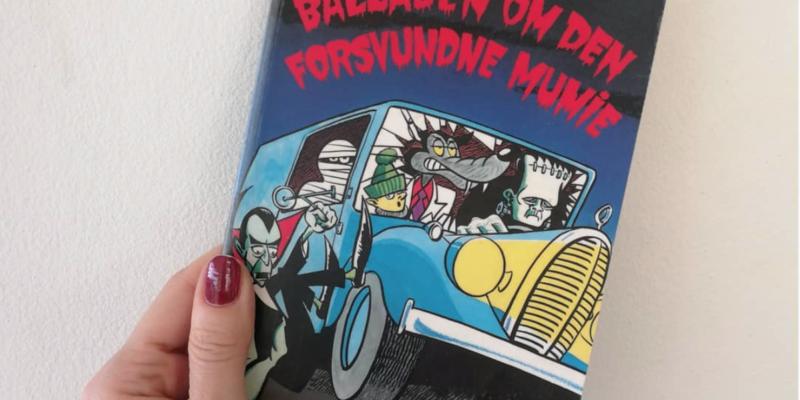 balladen om den forsvundne mumie dennis jürgensen børnebog kulturmor