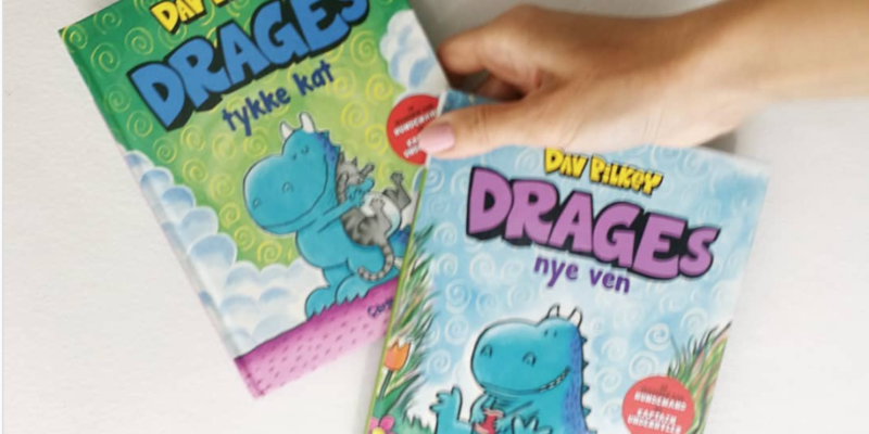 drages nye ven drages tykke kat dav pilkey
