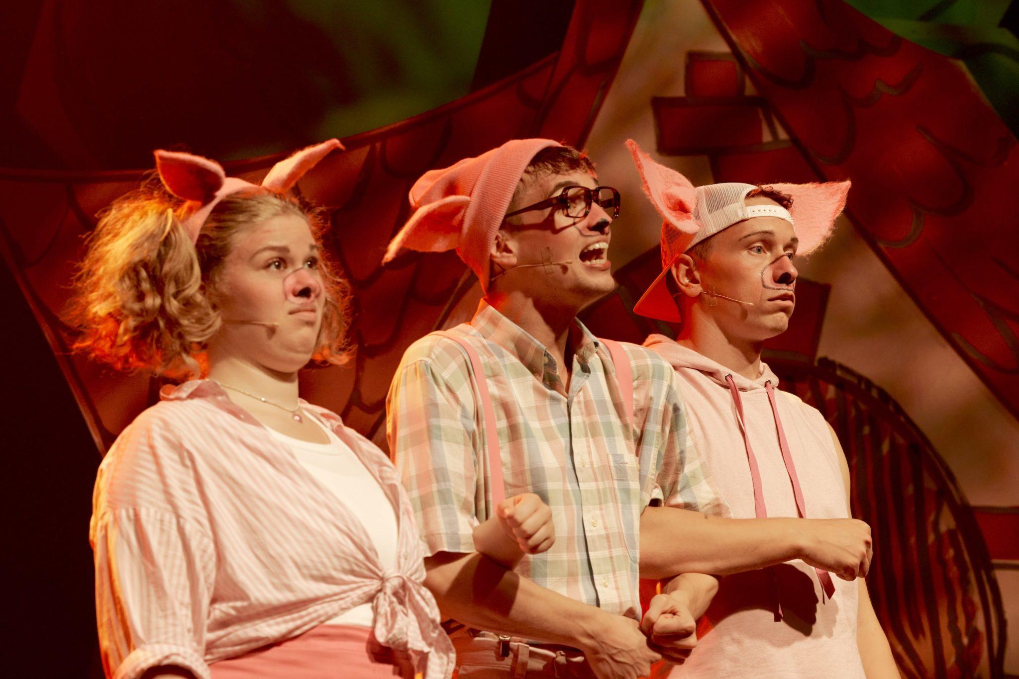 de tre små grise fredericia musicalteater